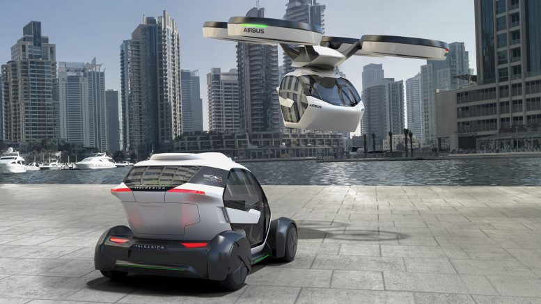 A Car Which Can Transform Into Plane, Train, and Automobile