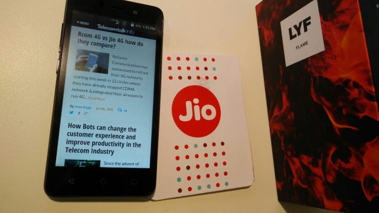 Reliance Jio to Soon Launch Its 4G Phones For Just Rs 999