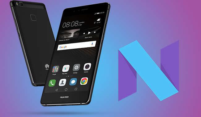 Huawei P9 Lite Gets Nougat