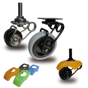 Shock Absorbing Casters Market