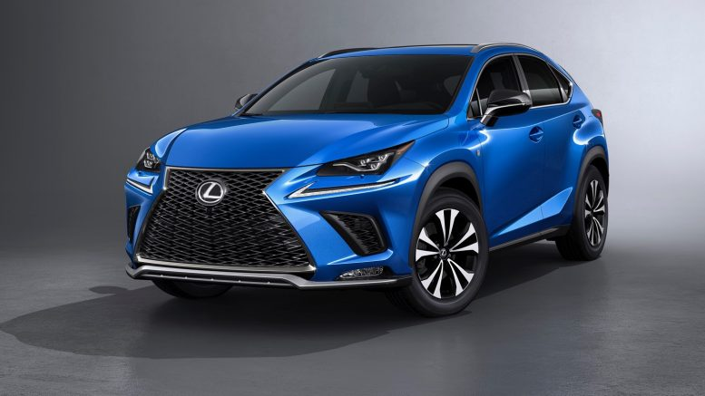 Totally Refreshed 2018 Lexus NX Crossover Revealed At Shanghai Auto Show