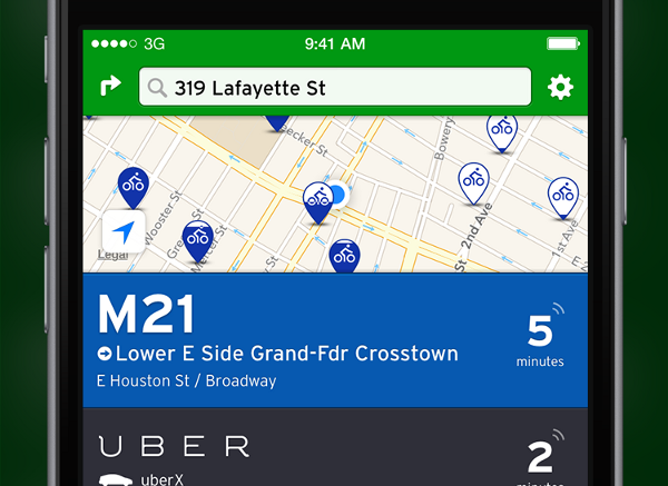 App Will Now Show Real-Time Public Transportation Data