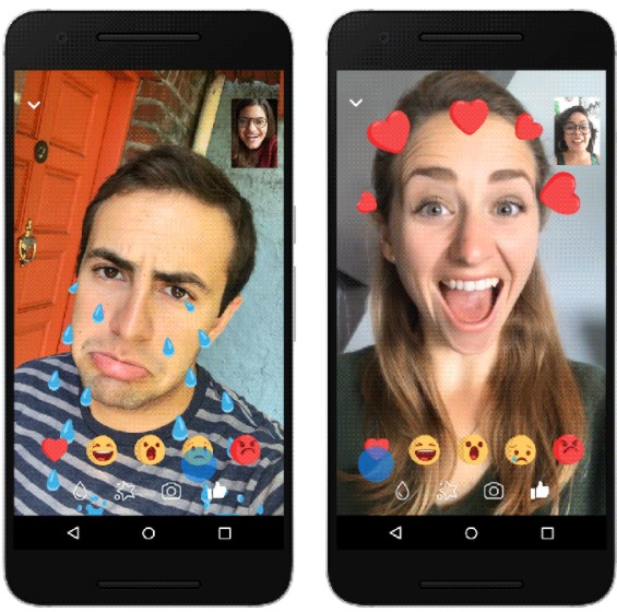 Animated Reactions, New Filters and Masks Added To Facebook Messenger Video Chat