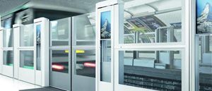 Automatic Platform Screen Door