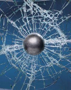 Bullet-resistant Glass