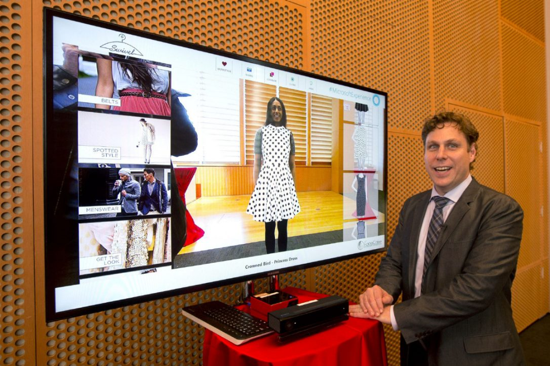 "New Virtual System Permits You to ""Try On"" Clothes"