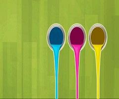 Phenolic resin-based paint